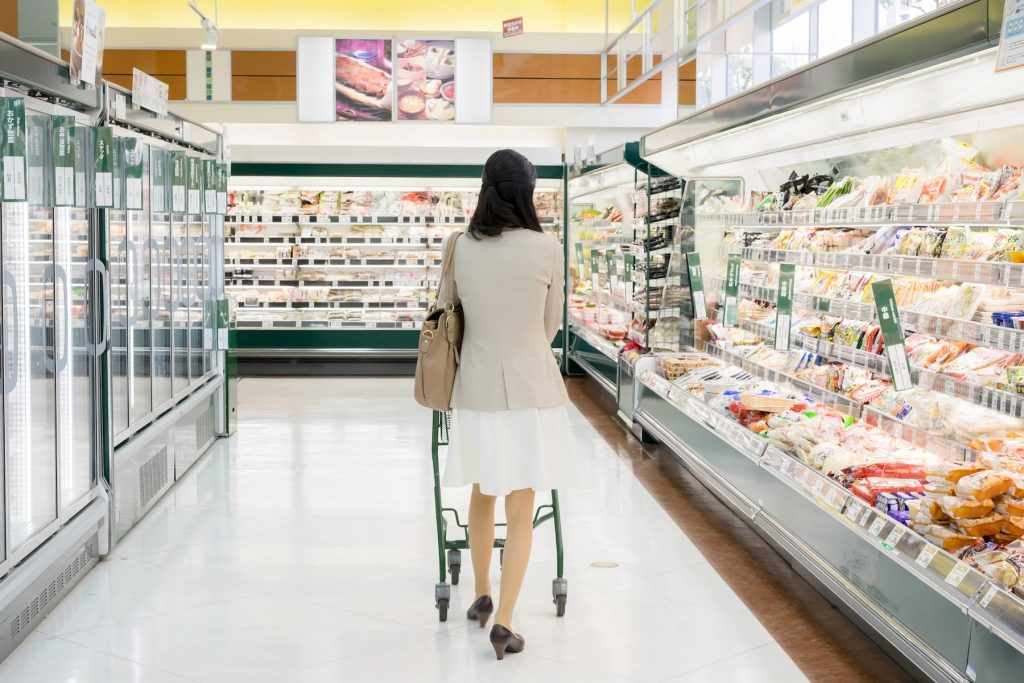 節電対策のスーパー